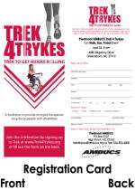 Trek Registration Card