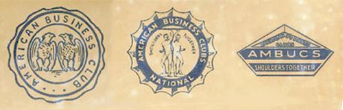 Historic AMBUCS Logos