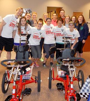 Trek 4 Trykes Participants
